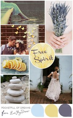 Free Spirit Inspiration Board by http://www.pocketfulofdreams.co.uk/