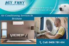 During summers, a moment spent without functional air conditioning unit is a moment spent in hell. This should not be the case with you as Act Fast Electrical & Air Conditioning has you covered for all types of ducted air conditioning repair and maintenance needs in North Lakes and its environs. We are operational throughout the North Brisbane area and we also attend to breakdown exigencies. Address: 48 Intrepid Court, Newport QLD 4020, Australia Phone: 0405 781 414