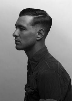 Vintage Hairstyles For Men Mens hairstyles Military Haircuts Men, Haircuts For Men, Men's Haircuts, Military Hairstyles, Toddler Hairstyles, Short Hair Cuts, Short Hair Styles, High And Tight Haircut, 1940s Hairstyles