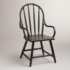 WorldMarket.com: Black Winthrop Rattan Chair