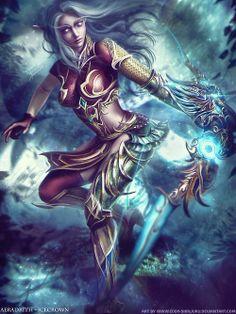 World of Warcraft - Aeradrith  by Eddy Shinjuku
