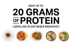 Enjoying more plant-based breakfasts can help fuel weight loss and keep you satisfied. Nutrition Education, Nutrition Day, Fitness Nutrition, Fitness Pal, Nutrition Activities, Sports Nutrition, Child Nutrition, Fitness Quotes, Quick Healthy Meals