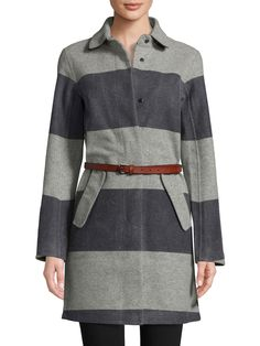 Helly Hansen Embla Wool Dress Coat In Light Grey Womens Fashion For Work, Girl Fashion, Waterproof Coat, Toddler Girl Style, Helly Hansen, Boutique, Wool Dress, Fashion Sketches, Wool Coat