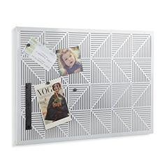 [$12.5] [Amazon Canada]Umbra Trigon Bulletin Board White http://www.lavahotdeals.com/ca/cheap/amazon-canadaumbra-trigon-bulletin-board-white/180732?utm_source=pinterest&utm_medium=rss&utm_campaign=at_lavahotdeals