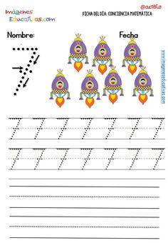 Fichas para trabajar los números (16)