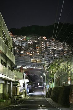 Nagasaki Japan. Its filled with many narrow slopes.