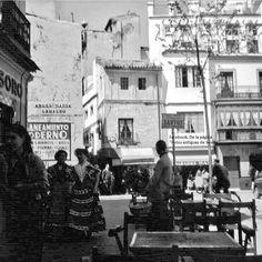 Times Square, Coffee Time, Antique Photos, Sevilla, City