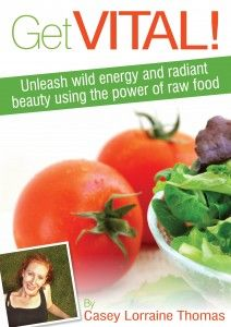 all kinds of raw food recipes!  yum