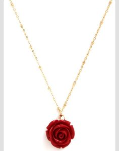A nice flower neclace. Maybe for a birthday or Christmas?