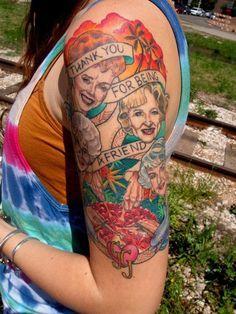 The Golden Girls Tattoo