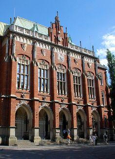 Uniwersytet Jagieloński- Jagielon University Krakow Poland-established 1364.
