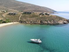 KOUTALAS BEACH ON SERIFOS ISLAND,CYCLADES Koutalas beach is about eleven kilometers long. The beach is a natural anchorage as it is very safe from the north winds. The beach is long, sandy with thin pebbles, there are trees for shade and a couple of taverns