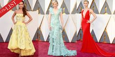 #TheLIST: The 10 Best Dressed at the 2016 Oscars  - HarpersBAZAAR.com