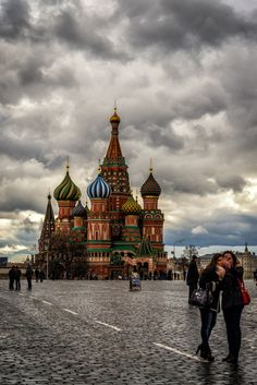 St. Basil's Cathedral Moscow / Russian by Gürkan Gündoğdu on 500px