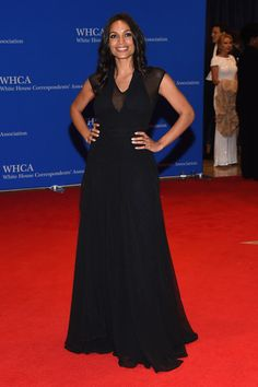 Actress Rosario Dawson attends the 102nd White House Correspondents' Association Dinner on April 30, 2016 in Washington, DC.