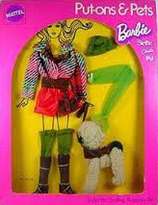 1972 Barbie, Steffie, Christie & P.J. - Hot Togs (Put-Ons & Pets) #1063