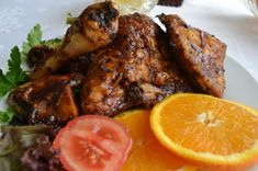 Barbeque Chicken Recipes, Barbeque Sauce, Bbq Chicken, Chicken Spices, Recipe Cards, Main Meals, Food To Make, Roast, Pork