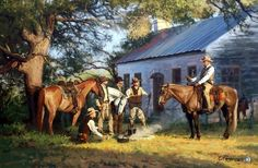 "Cowboys and Church Image Size 30""W X 20""H Signed and Numbered Comes with Certificate"