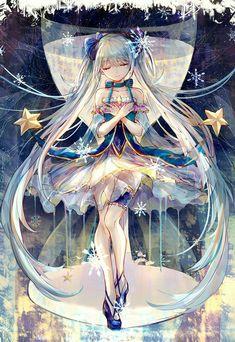 Kawaii Anime, 5 Anime, Fanarts Anime, Anime Art, Anime Girls, Hatsune Miku Vocaloid, Miku Chan, Kaito, Beautiful Anime Girl