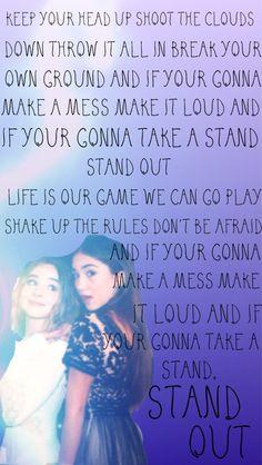 Stand Out lyrics edit by @karevsprincess