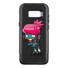 #girly - #Zombie Girl OtterBox Commuter Samsung Galaxy S8 Case