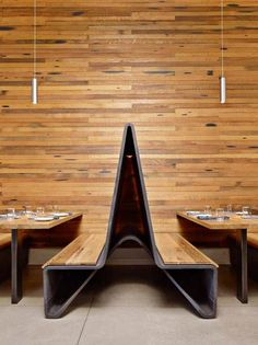 steel meets wood in bar agricole interior design by aiden darling also exquisite lighting pendants