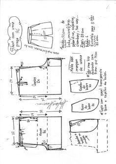 Sewing Shorts, Diy Shorts, Sewing Clothes, Vintage Sewing Patterns, Clothing Patterns, Baby Pants Pattern, Sewing Lessons, Fashion Design Sketches, Sewing Basics