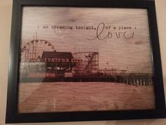 """~9-12-2013~Old Seaside Heights Photograph~ Dorothy said it best...""""There's no place like home..."""""""