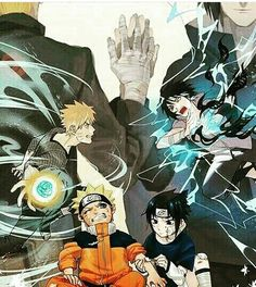 Naruto and Sasuke have come a long way....