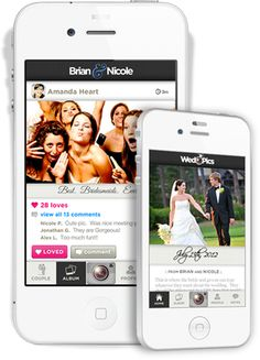 WedPics is a fun and easy way to capture and share all of your guests' photos in a single interactive album.