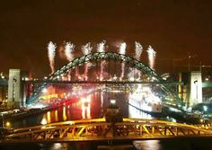New Years Eve Quayside 1999