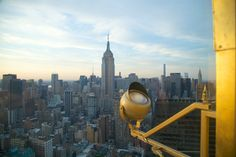 Taking in the view from the top   The New York EDITION