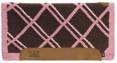 Weaver Pretty In Pink Memory Foam Saddle Pad With Felt Bottom
