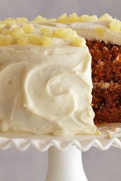 Carrot and Pineapple Cake Recipe : Ina Garten : Food Network. The only carrot cake recipe I'll ever use. I use canned crushed pineapple. Food Cakes, Cupcake Cakes, Cupcakes, Tea Cakes, Just Desserts, Delicious Desserts, Carrot Cake With Pineapple, Cake Recipes, Dessert Recipes