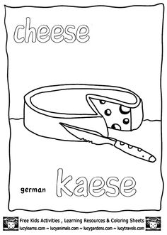 DANKE German Graffiti free printable coloring page