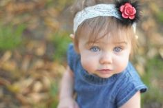 DIY: No-Sew Headbands With Interchangeable Decals (for when babies come down the road!)