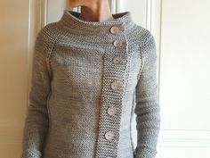 Ravelry: Smoke and Steam - love this version of the Golden Wheat Cardigan, one of my favourite patterns!