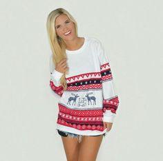 Lauren James Christmas Sweater Tee - Winter 2014 @LaurenJamesCo