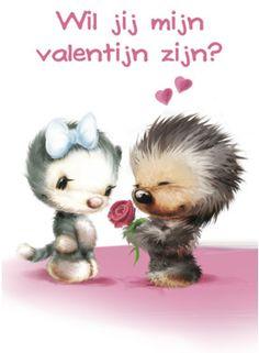 Wil je mijn valentijn zijn- Greetz