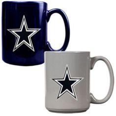 Dallas Cowboys 2-pc. Ceramic Mug Set