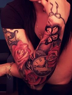 Rose tatoo women