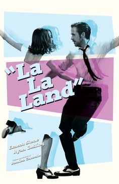"mikesapienza: ""My ""La La Land"" film poster. Now available at my shop: https://www.etsy.com/shop/sap41387 """