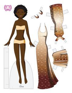 paper dolls deviantart | Ava Fashion Paper Doll by juliematthews