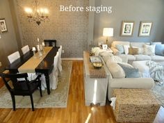 Rachel's Nest: Staging our home - part 2 Dusty House, Army Bedroom, Sell House Fast, Feng Shui Bedroom, Home Staging Tips, Reno, Simple House, House Rooms, Home Improvement Projects