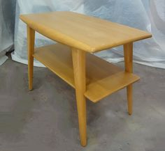 Heywood Wakefield Refinished Two Tiered End Table