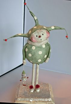 <h1<p>>BOY HOWDIE PAPIER MACHE FOLK ART by Dawn Tubbs</h1>