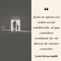 Jesús no apoya ese orden social establecido #lectiodivina #op800 http://www.op.org/es/lectio/2016-08-12