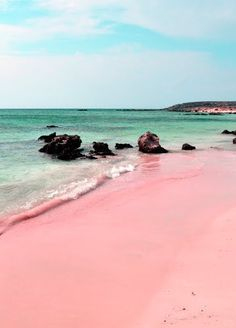 Nassau, Bahamas | White-sand beaches are beautiful. Pink-sand beaches take it to a whole new level. Cruise with Royal Caribbean to Nassau, Bahamas and stroll the Pink Sand Beach for miles of striking sand and gentle waters. It's a unique beach experience you won't want to miss.