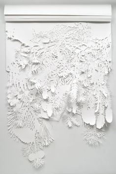 i luv these are Extraordinary Thank-You Notes, but imagine it as a garland....what an undertaking that would be......8}