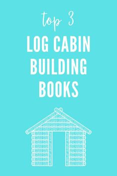 The best 3 books on how to build a cabin, with floor plans, step by step instructions, ideas, inspiration & more. These include information on how to build on a budget, DIY cabins, the cost of building a log cabin, how to do it cheaply, off grid & the best ways to build the cabin of your dreams. Whether you want a cabin in the woods, a mountain cabin, a lake cabin - or if you're not sure - these books are the right starting place. If you dream of building a cabin these books are MUST-HAVES.